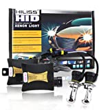 HILISS 55W HID Xenon Conversion KIT Ballast Bulbs H4 Hi/Lo 6000K 12V Slim Light