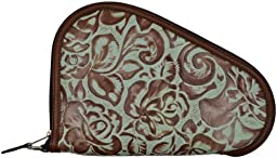 3D Turquoise and Brown Small Pistol Case