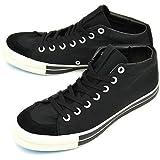 Rhythm Footwear RFW BAGEL MID STANDARD リズム フットウェア スニーカー ベーグル ミッド スタンダード BLACK (R-1212031 FW12)