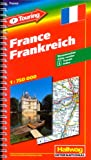 echange, troc Hallwag International - F-Touring France : 1/750 000