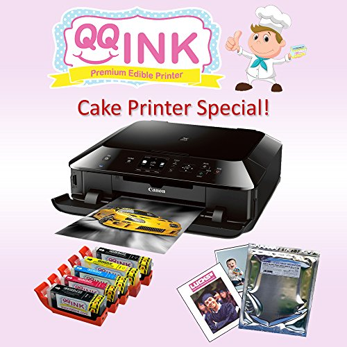 QQink Cake Printer Bundle – Canon MG542