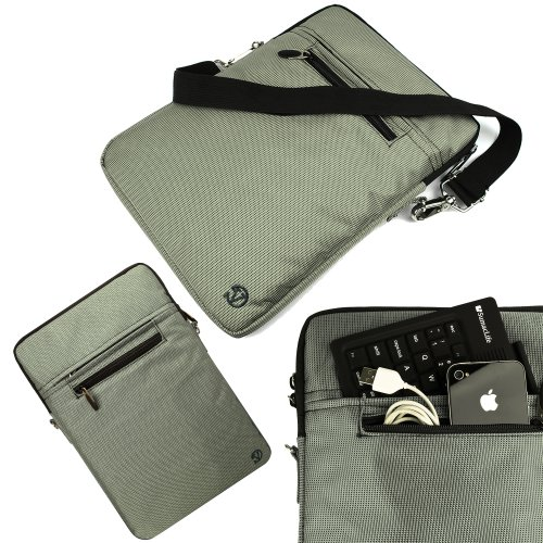 Grey Slate - Notebook Vangoddy Hydei Padded Carry Case Sleeve For Apple Macbook Air 13' Laptop