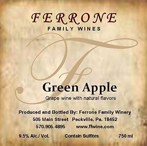 Nv Ferrone Family Winery Green Apple 750 Ml