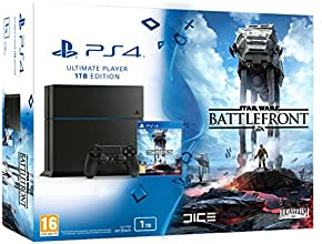 PlayStation 4 - Consola 1 TB + Star Wars: Battlefront