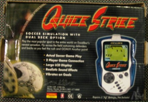 Quick Strike Soccer Simulation with Dual Deck Option