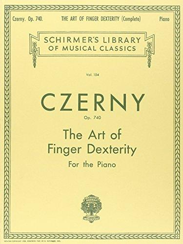Art of Finger Dexterity, Op. 740