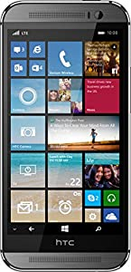 HTC One M8 for Windows, Gunmetal Grey 32GB (Verizon Wireless)