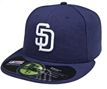 MLB San Diego Padres Authentic On Field Game 59FIFTY Cap 7 1/2