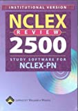 Nclex Review 2005 Study Software For Nclex-pn: (institutional Single Seat Cd-rom For Windows) (1582552649) by Springhouse Corporation