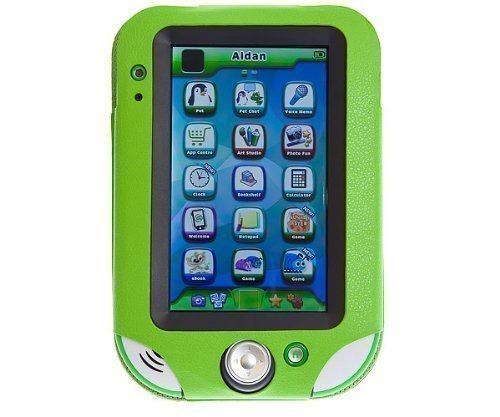 Ultimate Addons Kids Green Pu Leather Folio Case With Stand For Leapfrog Leappad Ultra