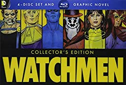 Watchmen Collector\'s Edition: Ultimate Cut + Graphic Novel [Blu-ray]