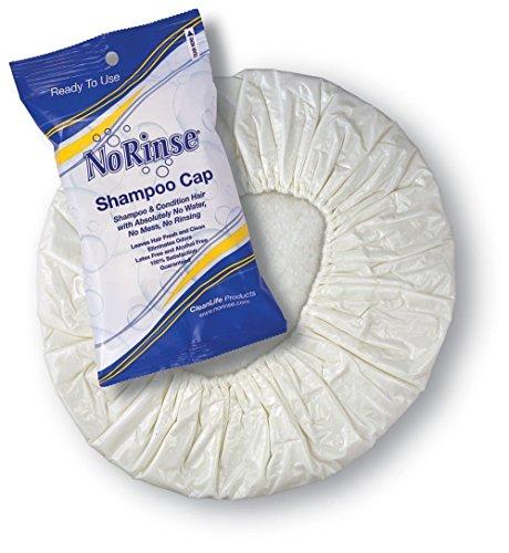 No Rinse Shampoo Cap (10-Pack) (No Rinse Shampoo Cap compare prices)