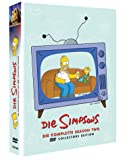 DVD Cover 'Die Simpsons - Die komplette Season 2 (Collector's Edition, 4 DVDs)