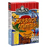 Orgran Outback Animals Cookies Gluten Free Chocolate -- 6.2 oz