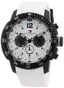 TOMMY HILFIGER Herren-Armbanduhr XL Analog Quarz Silikon 1790890