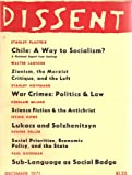 img - for Dissent December 1971 book / textbook / text book