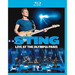 Sting: Live at The Olympia Paris [Blu-ray]