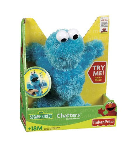 Fisher-Price Chatters Cookie Monsters (Cookie Monster Fisher Price compare prices)