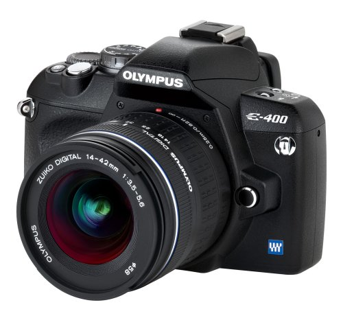 Olympus E-400 Digital SLR Camera inc. ED 14-42mm 1:3.5-5.6 lens