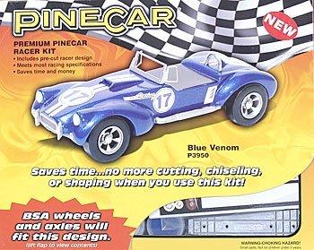Woodland scenics pine car derby racer premium kit blue for Woodland motors used cars