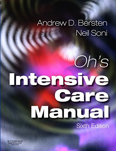 Oh's Intensive Care Manual PDF