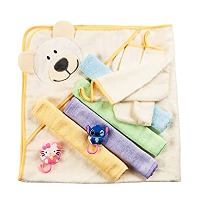 Bamboo Baby Hooded Towel Gift Set by BabyVoice