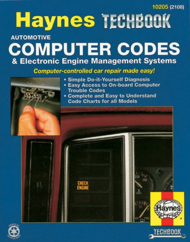 Automotive Computer Codes: Electronic Engine Management Systems (Haynes Repair Manuals) (Sensor Technology Handbook compare prices)