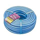 アイリスオーヤマ ホース パーツ 耐圧糸入りカットホース 25m ブルー