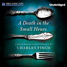 A Death in the Small Hours Audiobook by Charles Finch Narrated by James Langton
