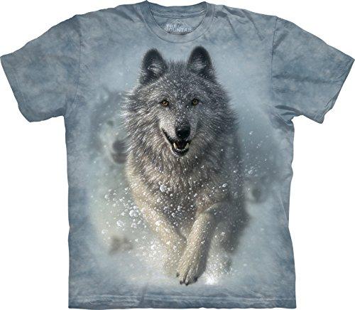 The Mountain Maglietta Snow Plow Wolf Bambino Unisex S