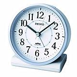 SEIKO CLOCK(セイコークロック) 電波アナログ目覚まし時計(薄青) KR328L