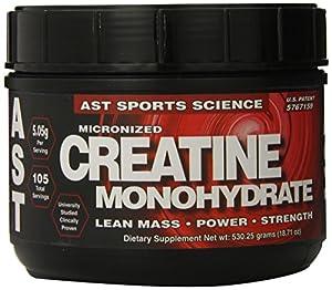 AST Micronized Creatine, 530.25-Grams