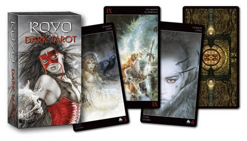 Royo Dark Mini Tarot: 78 Full colour cards and 16 page guide booklet