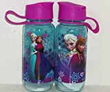 Disney Frozen Anna and Elsa Reusable Water Bottle