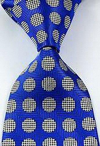 romario-groomsmen-jds2099-novelty-polka-dot-blue-sliver-jacquard-woven-mens-tie-236