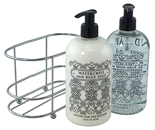 3 Pc Gift Set - Watercress and Blue Sage Duo in Caddy (Gun Blue Sealer compare prices)