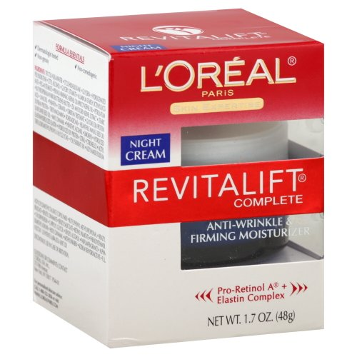 L'Oreal Paris Advanced RevitaLift Complete Night Cream, 1.7 Ounce