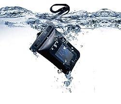 GalaxySもiPhoneもエクスペリアも携帯電話もデジカメも防水に!(iPhone4S対応)スマートフォン用防塵防水ケース