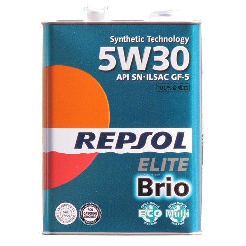 REPSOL [ レプソル ] Brio [ ブリオ ] 5W30 [ SN ] 半合成油 [ 4L ] 007068 [HTRC3]
