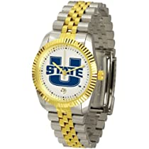 Utah State Aggies Suntime Mens Executive Watch - NCAA College Athletics