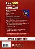 Image de Les 500 exercices de Grammaire Niveau B2 : Avec corrigés