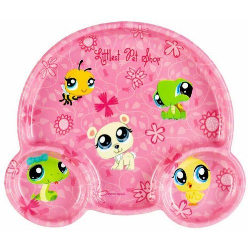 Littlest Pet Shop Pocket Plate Plastic (1 per package)
