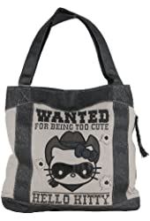 Loungefly Hello Kitty Wanted tote (Grey)