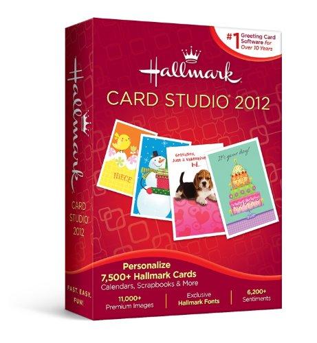 Hallmark Card Studio 2012