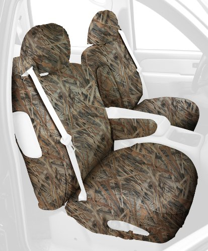 Covercraft Custom-Fit Front Bucket SeatSaver Seat Covers - Polyester Fabric, Flooded Timber (2001 Toyota Sequoia Armrest Cover compare prices)