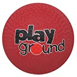 Baden Rubber 7-Inch Playground Ball, Red