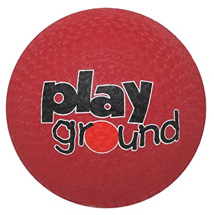 Baden Rubber 16-Inch Playground Ball, Red