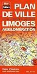 Plan de Limoges et de son agglom�ration