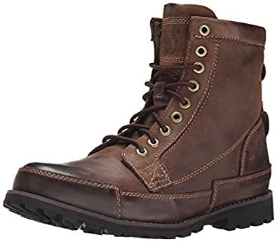"Timberland Men's Earthkeeper 6"" Laceup Boot,Dark Brown/Brown, 7 M US"