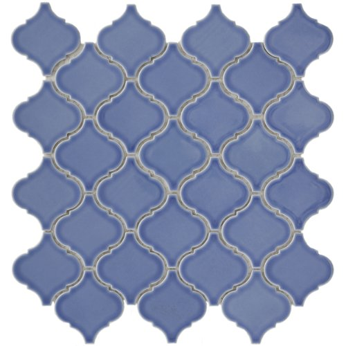 Beacon Blue 12 1/2 x 12 1/2 Inch Porcelain Floor & Wall Tile (10 Pcs/11 Sq. Ft. Per Case, $1 Standard Shipping)